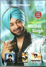 Malkit Singh - GAL SUN JA - Hai shava - Mighty boliyan - 3 CD's Pack