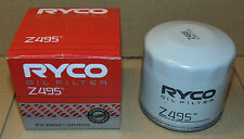 Z495 RYCO Oil Filter for SUBARU Impreza Outback Liberty Forester EJ20 EJ25 WRX