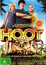 HOOT Luke Wilson Brie Larson burrowing owls NEW DVD R4 (Region 4 Australia)
