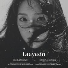 TAEYEON-[THIS CHRISTMAS-WINTER IS COMING] CD+Booklet+Card+Store Gift