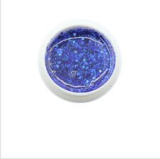 Nail Art Powder Glitter Dust For UV Gel Polish Acrylic Tips Decor DIY Blue MF048