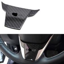 For Honda Civic 2016-2017 Carbon Fiber Style Steering Wheel Frame Cover Trim