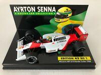 Ayrton Senna | 1988 Mclaren Honda MP4/4 Turbo | LANG Diecast F1 Model Car 1:43