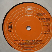 """ABBA - Does Your Mother Know - Excellent Condition 7"""" Single EPC 7316"""