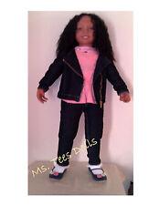 "Reborn Christie  38"" (Big Sis) Ethnic/Biracial Toddler Doll"