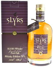Rarität: Slyrs Whisky finished im Port Faß 0.7l Edition 1 mit GP
