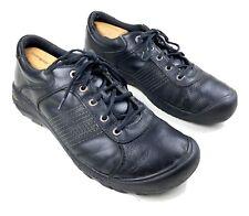 KEEN Finlay 1002763 hiking shoes Men's sz 14 EU 47.5 Black Leather