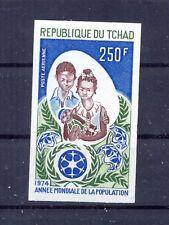 Chad, Tchad 1974 World Population Year set MNH VF.