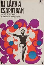 ROOKIE NOVENKAYA Hungarian A1 movie poster 1968 SPORTS GYMNASTICS Ferenc Bors