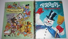 Frosty the snowman Little Golden Book HC 1979