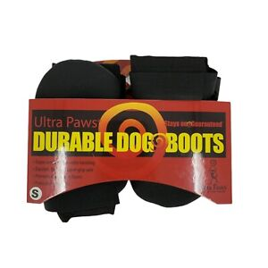 """DURABLE DOG BOOTS Ultra Paws 4/S """"NEW"""""""