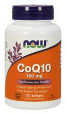 Now Foods Coq10 100 mg 150 Softgels