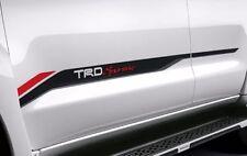 PAIR GENUINE TRD STICKER STANDARD FOR TOYOTA  FORTUNER 2014