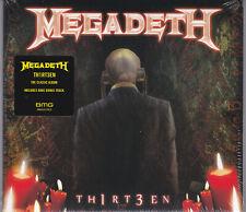CD   Th1rt3en (Remastered) von Megadeth (2019) Digipak   NEU!!!