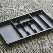 Charcoal Cutlery Tray for 800mm Grass Scala Drawer | Kitchen/Drawer Organisation