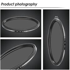 49MM Ultra Slim ND2-ND400 Fader Neutral Density Adjustable Lens Filter