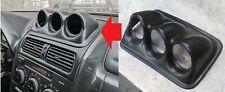For Lexus IS200 IS300 Podium Gauge Dash Console Pod 60mm ABS Plastic Panel