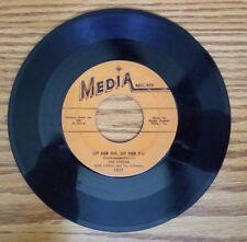 Vintage 45 rpm Ken Carson Don Costa Let Her Go / Hide & Seek Media 1017 '55