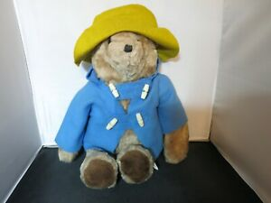Paddington Bear Eden Toys sewn in Columbia measures 18 inch without his hat