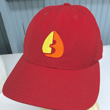 Burton Red Vintage Snapback Made in USA Baseball Cap Hat