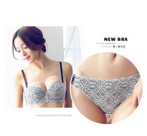 bra briefs set sexy push up underwear bra set women lingerie bra & panty set BC