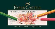 Faber-Castell Polychromos Pastel Crayon 12 Color Professional Artist 128512