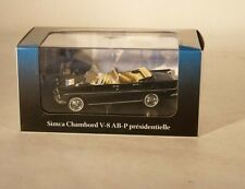 Atlas simca chambord v8 ab-p de Gaulle 1961 cars of heads of state new 1/43