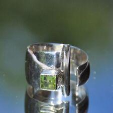 Ringe mit Peridot echten Edelsteinen mit 54 (17,2 mm Ø)