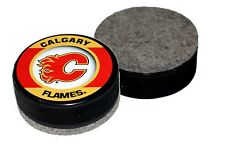 Calgary Flames Retro Series Hockey Puck Eraser