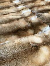 Fox Fur Blanket /bedding Cover
