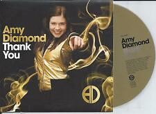 AMY DIAMOND - Thank you CD SINGLE 1TR MELODIFESTIVALEN 2008 SWEDEN Eurovision
