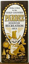 1968 Pardee Reservoir Recreational Area California vintage travel brochure b