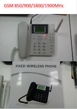Quad-band GSM Fixed Wireless Phone Office Desktop Telephone Terminal Support SMS
