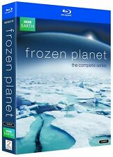 FROZEN PLANET (2011): David Attenborough - BBC Nature TV Series - NEW BLU-RAY UK