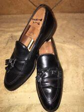 "Allen Edmonds ""Greyson"" Black Leather Loafers Sz 12 B"