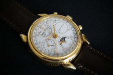 Chronograph Jaquet Baume moonphase mondphase triple date, valjoux 7751
