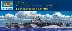 Trumpeter 1/350 05603 U.S.Aircraft Carrier CV-10 Yorktown 1944  model kit
