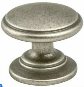 """Berenson 9376-10WN-P 1-3/16"""" Knob Weathered Nickel 3 AVAILABLE"""