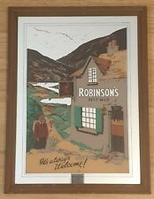 More details for robinsons best mild vintage pub mirror - 38 x 51cm - 'its always welcome'