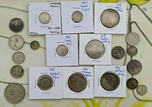 Super Premium Lot Of World Coins - All Silver, No Base Metal Coins