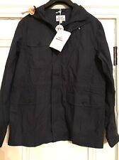 Battenwear Cotton Poplin Travel Shell Parka Navy Large