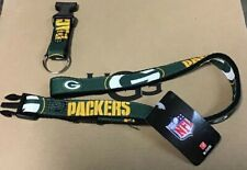 GREEN BAY PACKERS LANYARD DETACHABLE BUCKLE BRAND NEW Key Ring W/ Tags NFL NICE