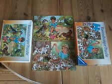 ***   2 x 20 Teile Puzzle Meine Tierbabies, Ravensburger 08 929, bitte lesen