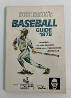 1978 MLB Baseball Guide Bob Elson Northwest Federal Savings Chicago HOF