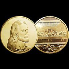 Jesus Christ Last Supper Portrait 1Oz 24kt gold Christian Biblical 3D Medal/Coin