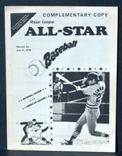 1978 ML All Star Baseball Catalog Program San Diego Padres Stadium Complementary