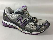 New Balance 1080 V2 Running Shoes Womens 6.5 Med Sneaker Purple White Gray Black