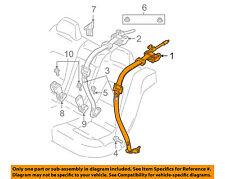 VOLVO OEM 05-06 S80 Rear Seat Belt-Belt & Buckle Retractor Right 30780575