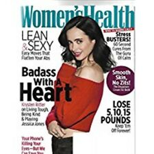WOMEN'S HEALTH MAG NOVEMBER 2017 KRYSTEN RITTER ON PLAYING JESSICA JONES