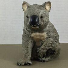 "Koala Bear vintage figurine Royal Heritage porcelain bisque 4.25"" tall"